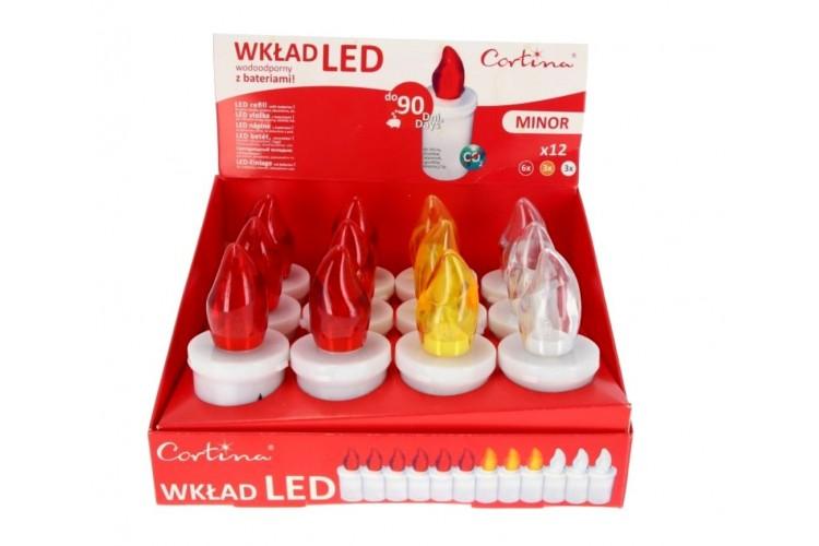 Lampka wieczna mała LED