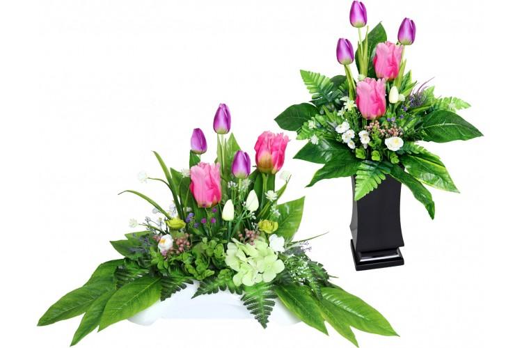 Stroik + Bukiet Tulipany MAX