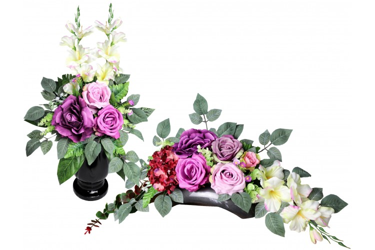 Stroik + bukiet - Róże