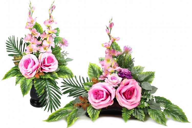 Róża XXL stroik + bukiet
