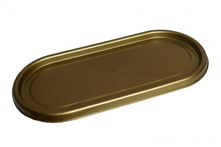 Podstawka pod znicz złota