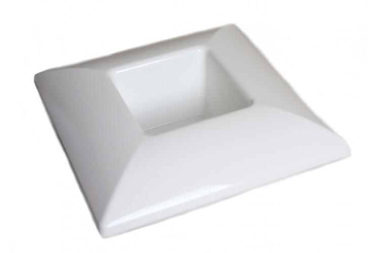 Donica kwadrat - biała