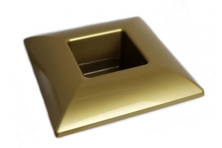 Donica kwadrat - złota