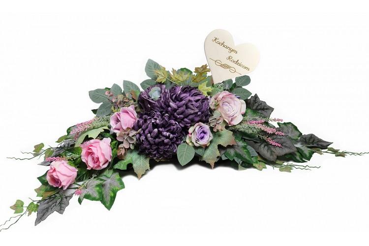 Chryzantema fiolet stroik
