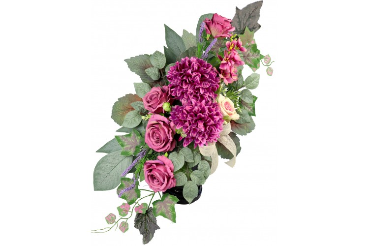 Chyzantema i Róża bukiet